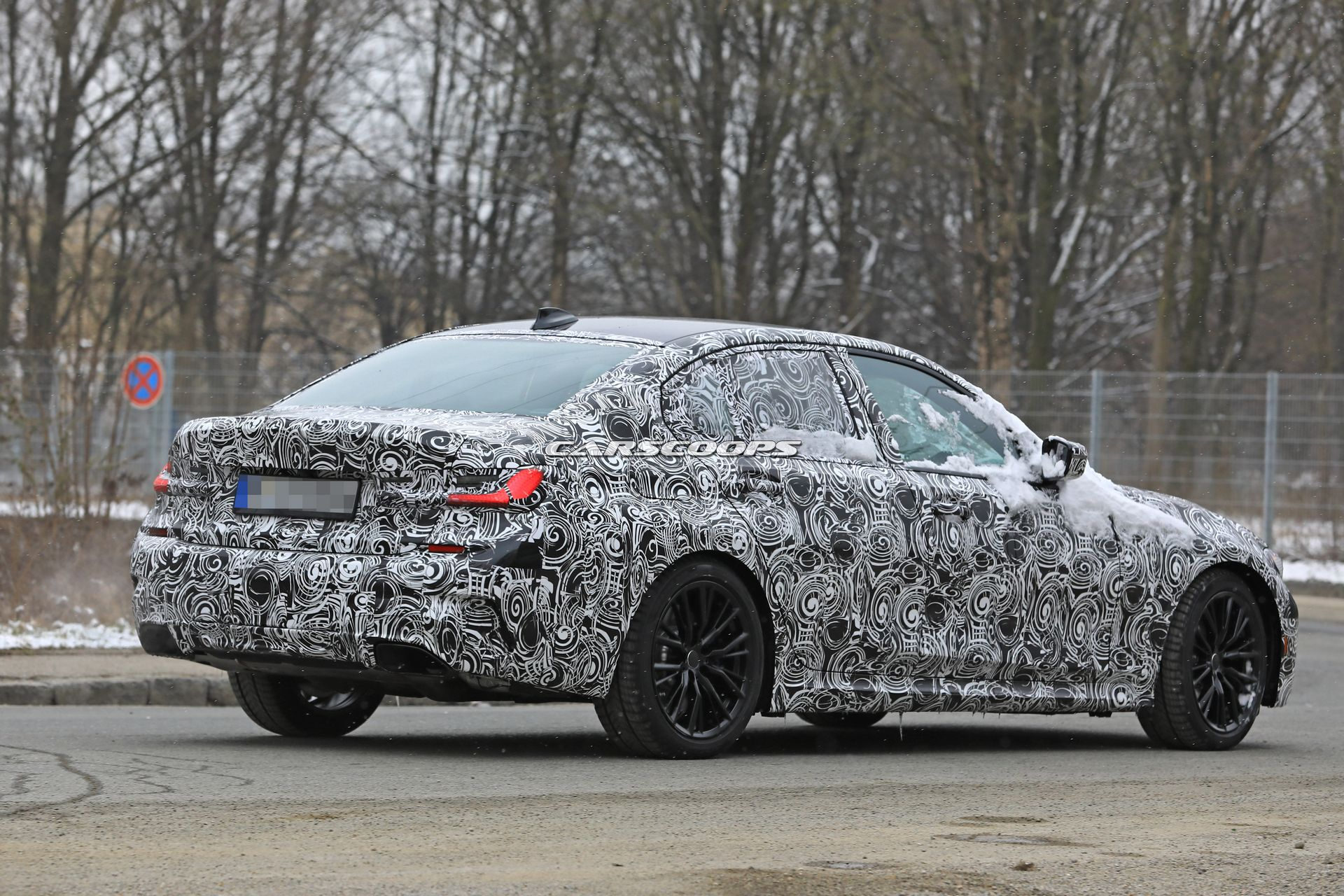 2019 Bmw 3 Series Spied In Base M Sport And M340i Performance Guises Carscoops