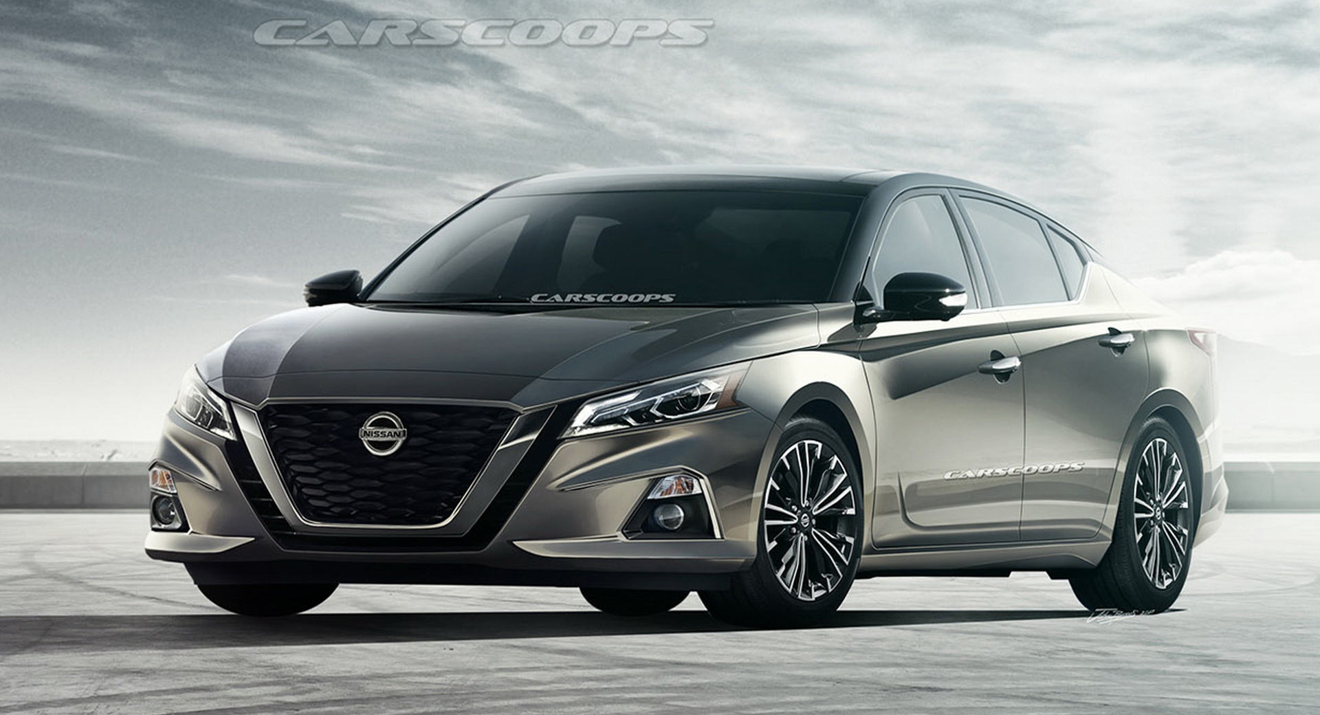 2019 nissan altima everything we know so far carscoops. Black Bedroom Furniture Sets. Home Design Ideas