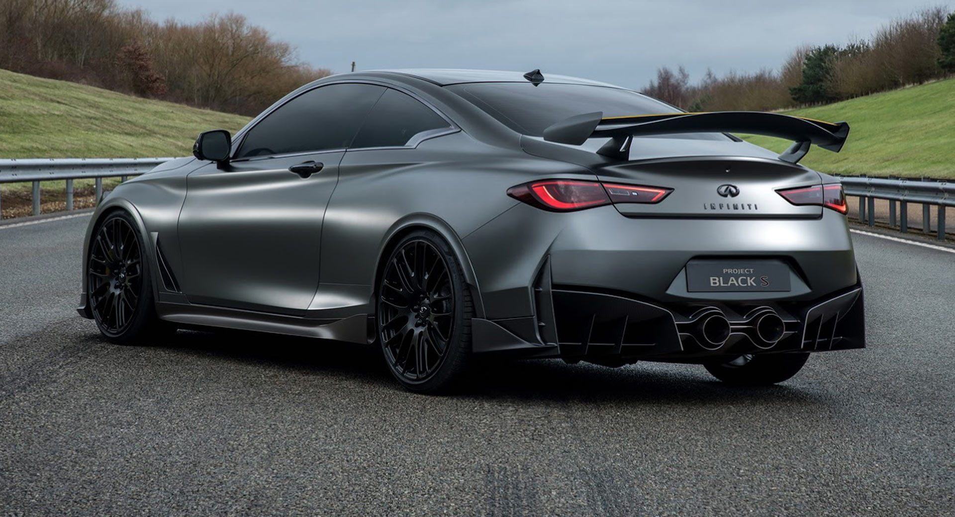 infiniti making progress with q60 project black s hybrid coupe carscoops. Black Bedroom Furniture Sets. Home Design Ideas
