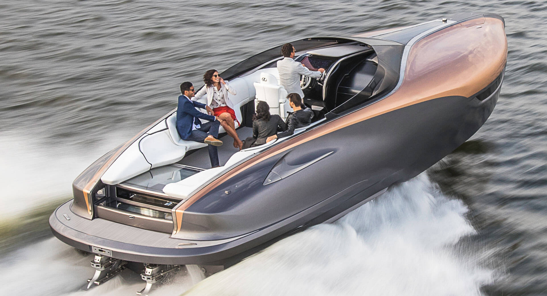 Toyota Company Latest Models >> Ahoy Matey! Lexus Will Offer A 65-Foot Luxury Yacht ...