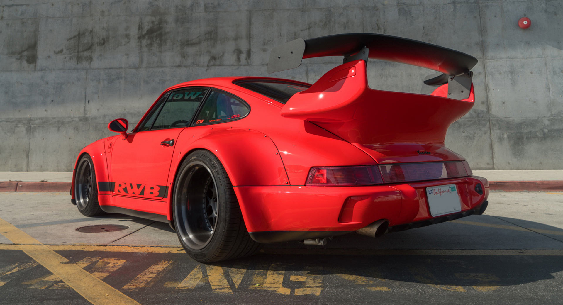 Japanese Car Brands >> Turbocharged Porsche 911 RWB Shows Off Its Curves In ...