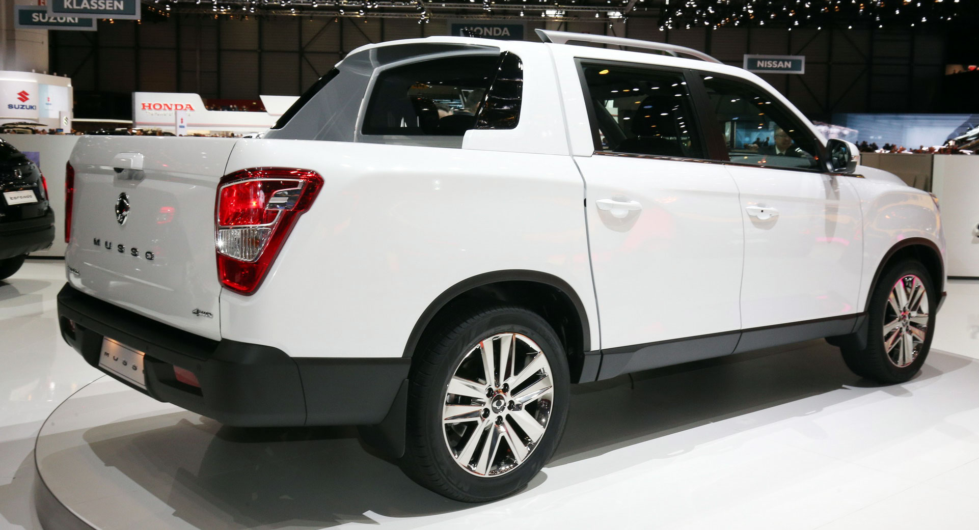 2019 SsangYong Musso Wants To Be Europe's Honda Ridgeline | Carscoops