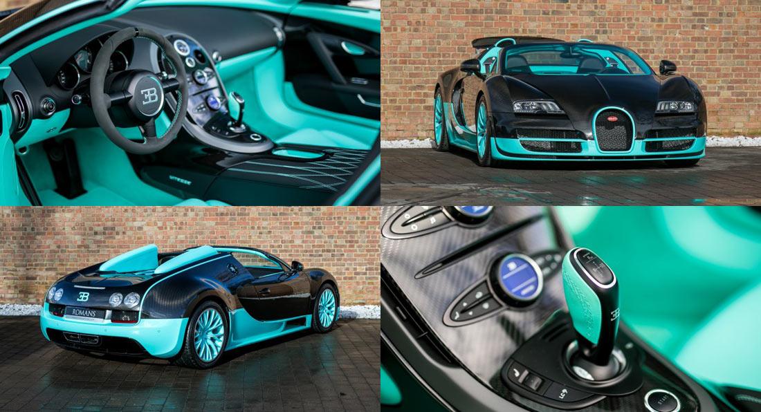bugatti veyron 2018. good luck sleeping after seeing this tiffany blue bugatti veyron vitesse 2018