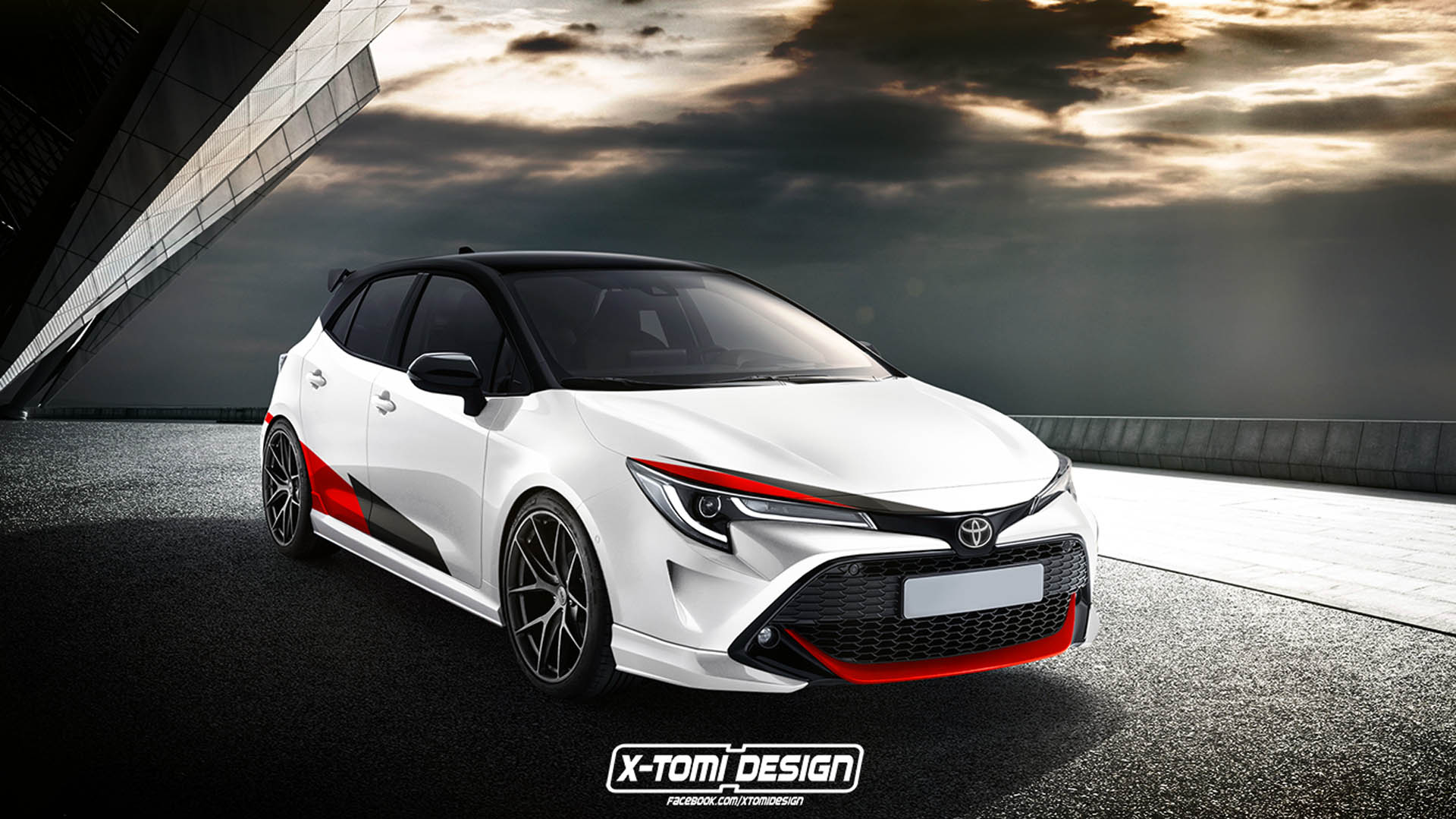 toyota auris grmn would make an awesome hot hatch carscoops. Black Bedroom Furniture Sets. Home Design Ideas