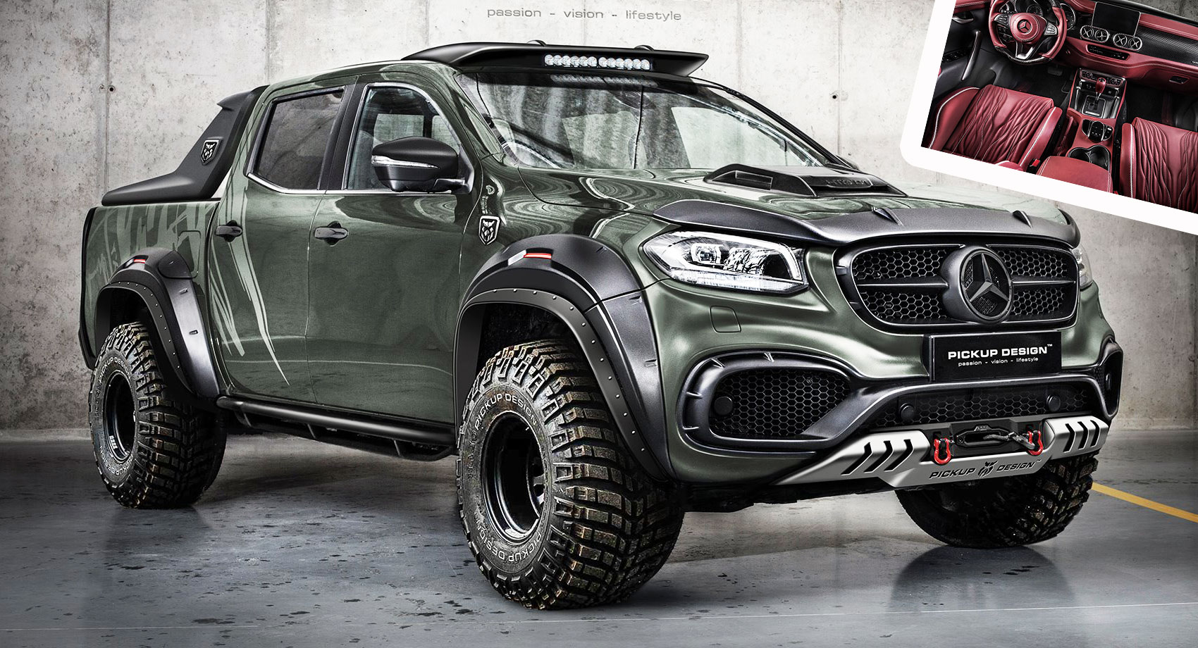 Beauty And The Beast: Mercedes X-Class Gets Two Tuning ...