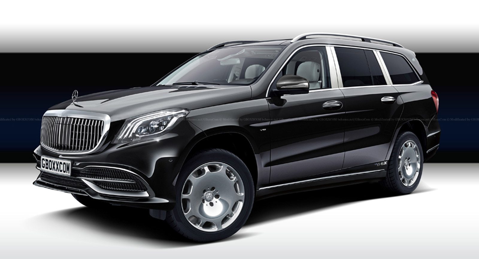 The Maybach Gls Will Probably Look Something Like This But Better