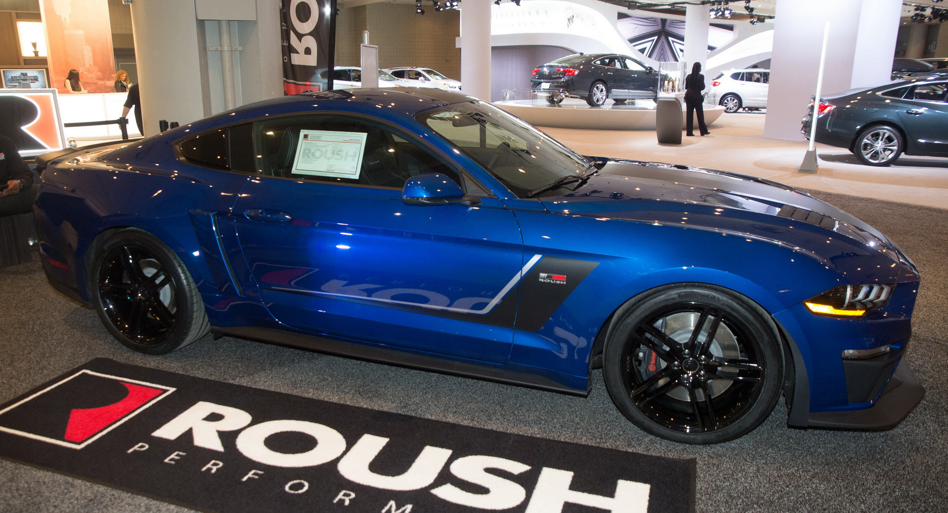 Roushs 2018 jackhammer is a 710 hp supercharged mustang carscoops