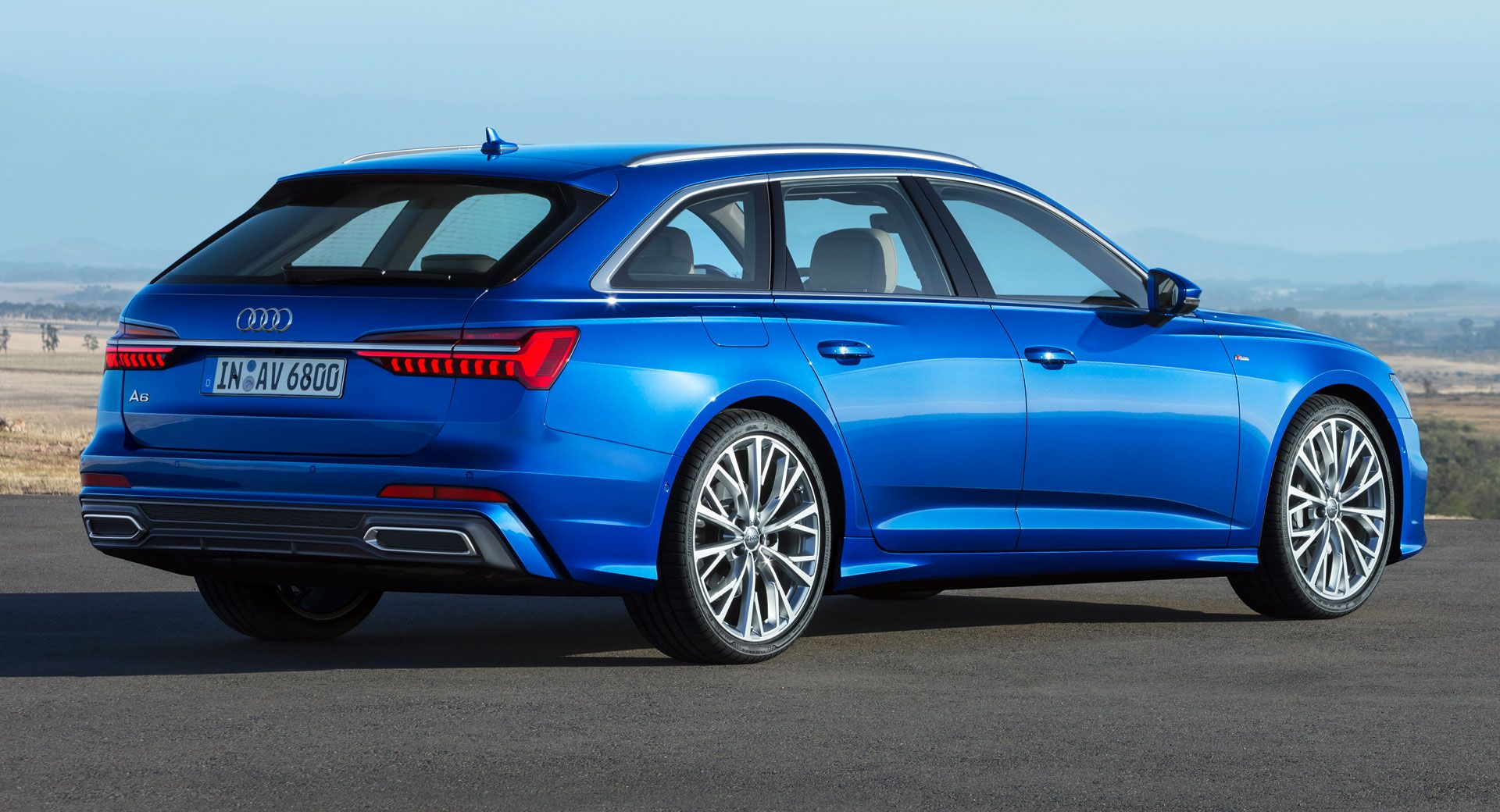 2019 audi a6 avant is here looking more handsome than ever carscoops. Black Bedroom Furniture Sets. Home Design Ideas
