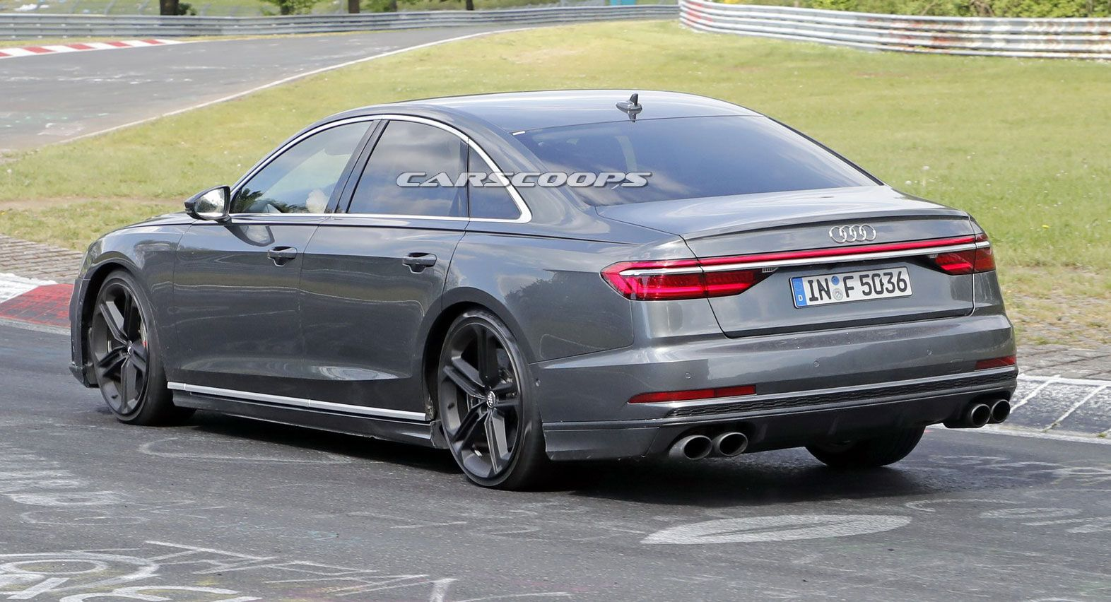 2019 Audi S8 Coming With 530HP Version Of Panamera's Bi-Turbo V8 | Carscoops