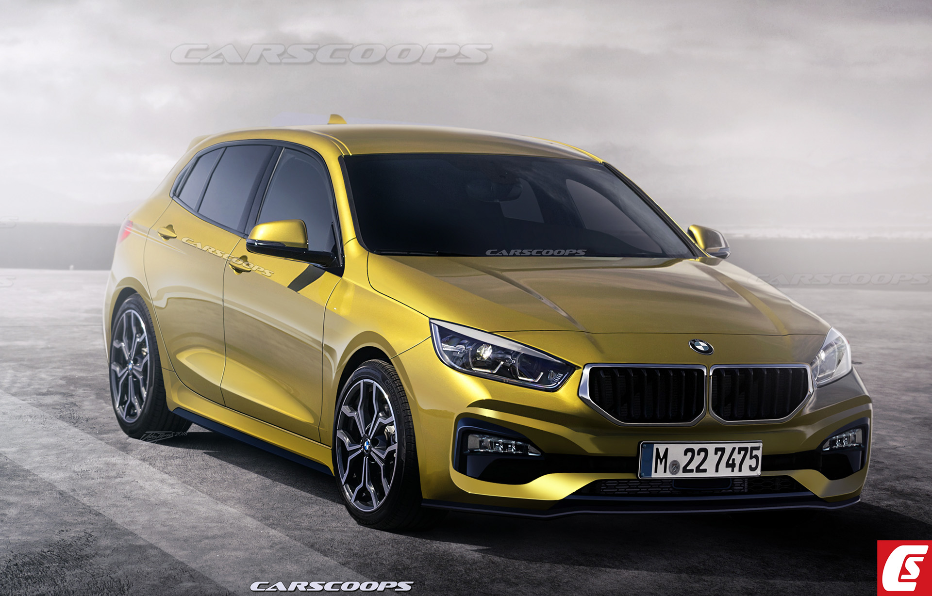 new 2019 bmw 1 series hatch what it will look like and everything else we know carscoops. Black Bedroom Furniture Sets. Home Design Ideas