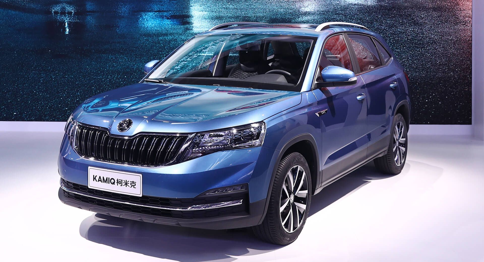 Skoda Kamiq Drives Into The Beijing Show With 1.5L Engine