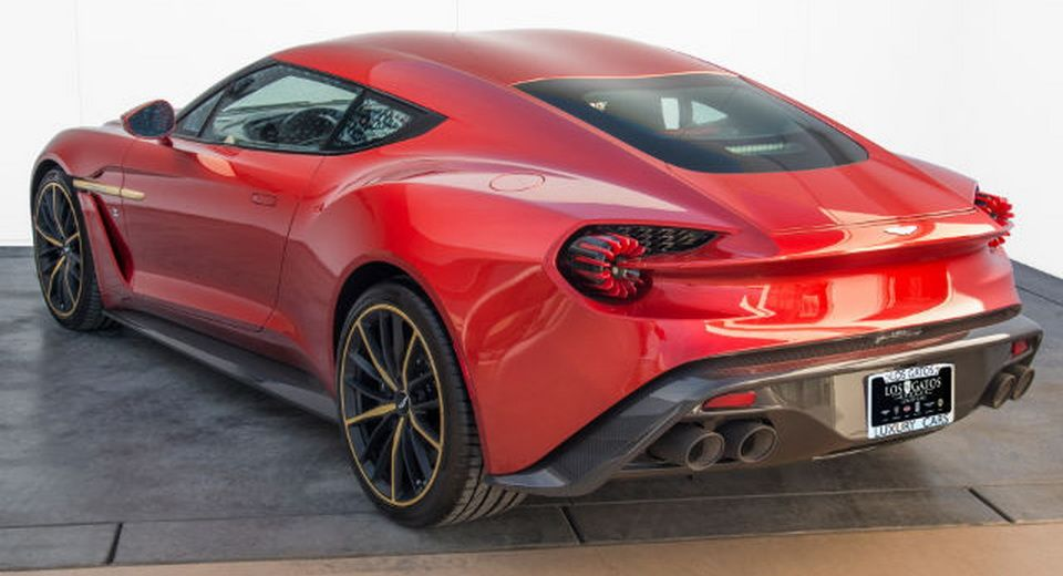 Barely Driven Aston Martin Vanquish Zagato Is A Million Piece Of - Los gatos aston martin