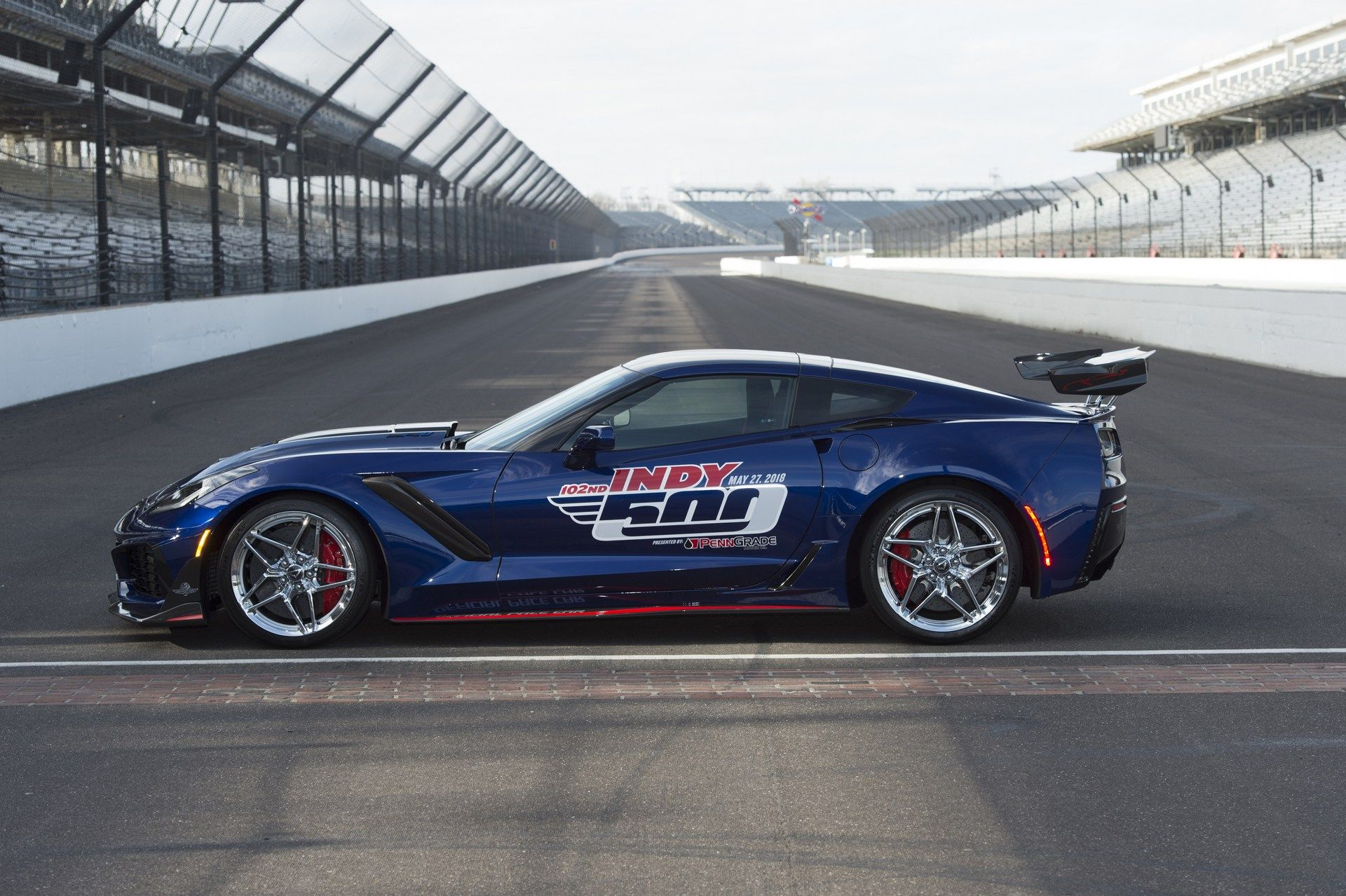 Chevy Corvette ZR1 will pace the 2018 Indianapolis 500