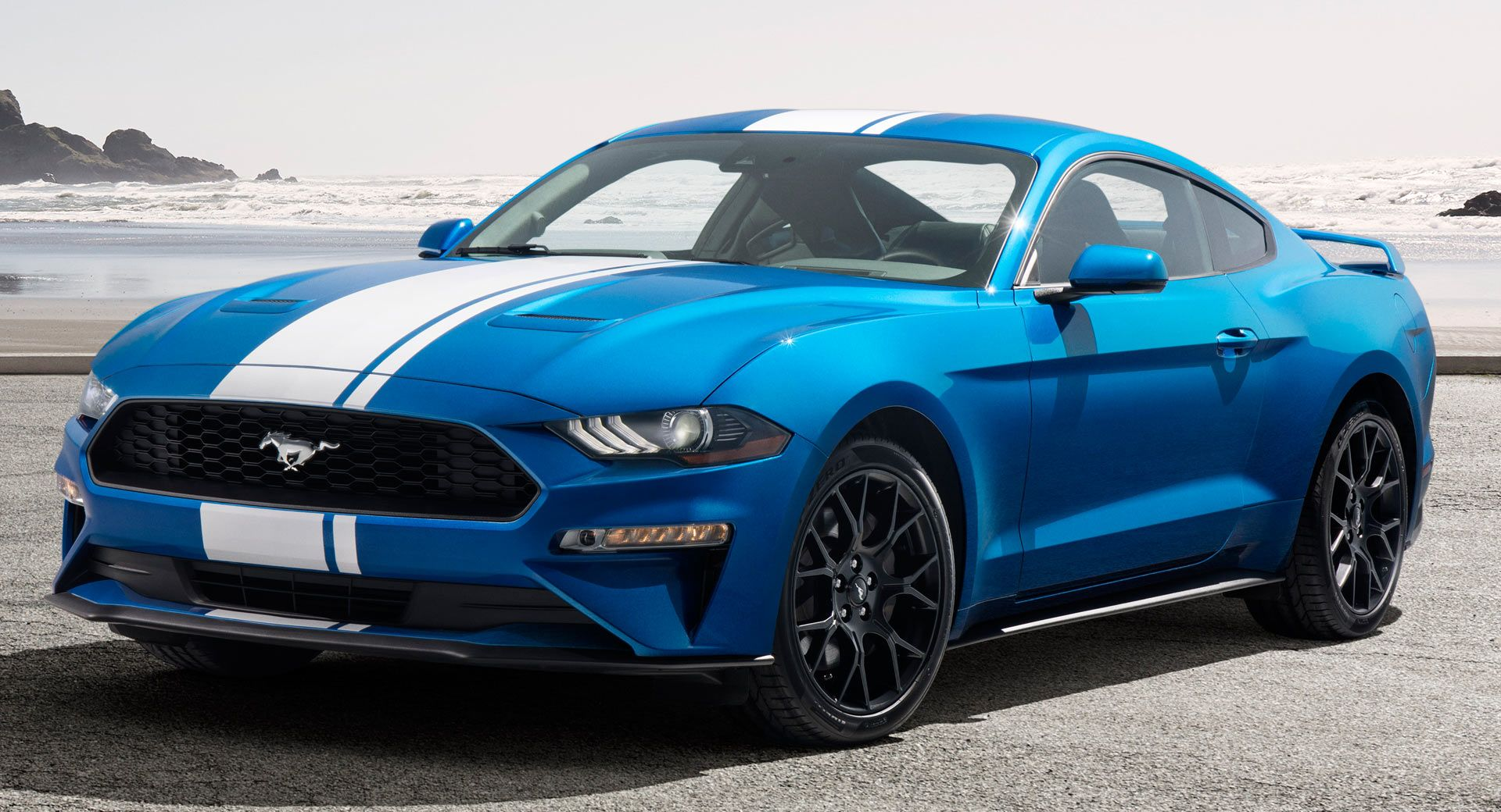 2019 ford mustang ecoboost gets active valve exhaust this is what it sounds like carscoops