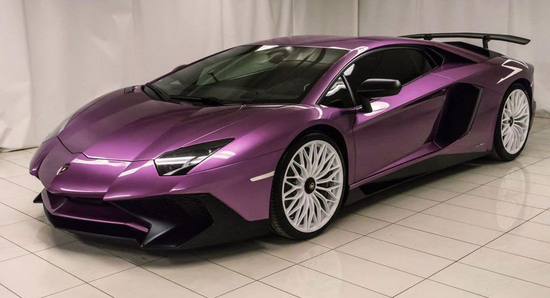 Purple Lamborghini Aventador Sv Perfect For The Refined Millionaire