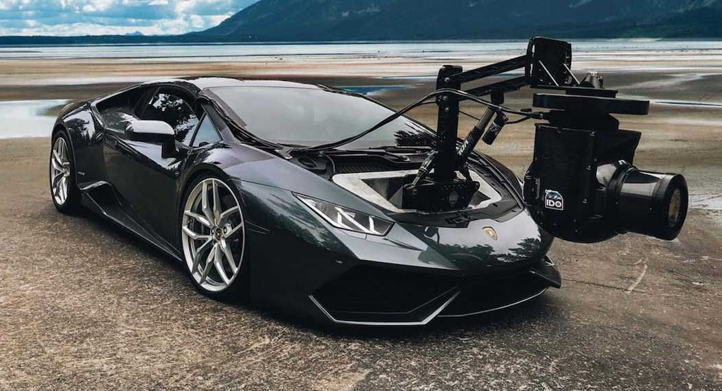 Lamborghini Huracan Camera Car