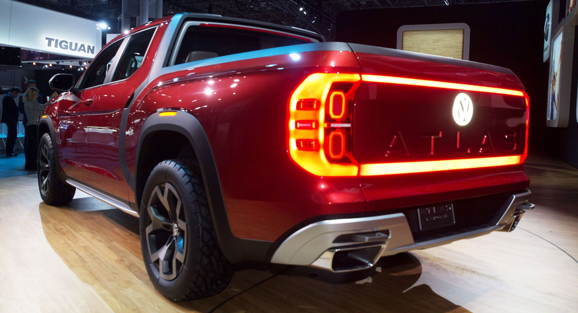 Women May Hold The Key To Success For VW Atlas Pickup ...