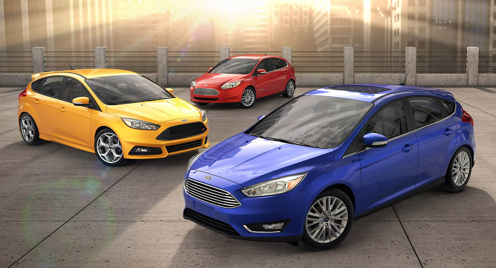 2019 Ford Focus Visual Comparison Out With The Old In With The New