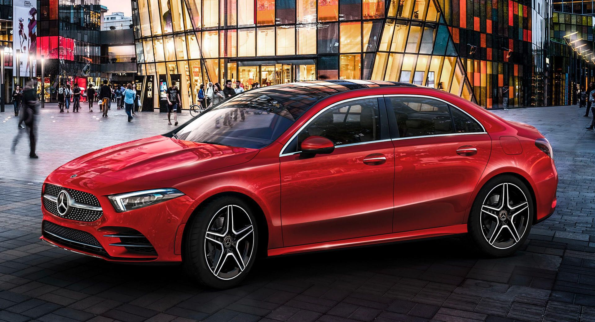 Mercedes A Class L Sedan Breaks Cover At Auto China 2018