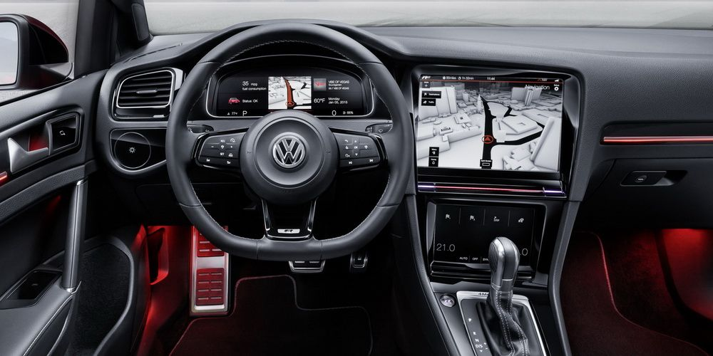 2019 vw golf 8 test mule reveals plenty of juicy details. Black Bedroom Furniture Sets. Home Design Ideas