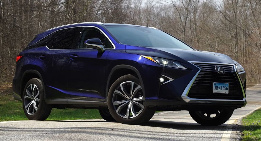 lexus rx 350l driven by consumer reports how good is the. Black Bedroom Furniture Sets. Home Design Ideas