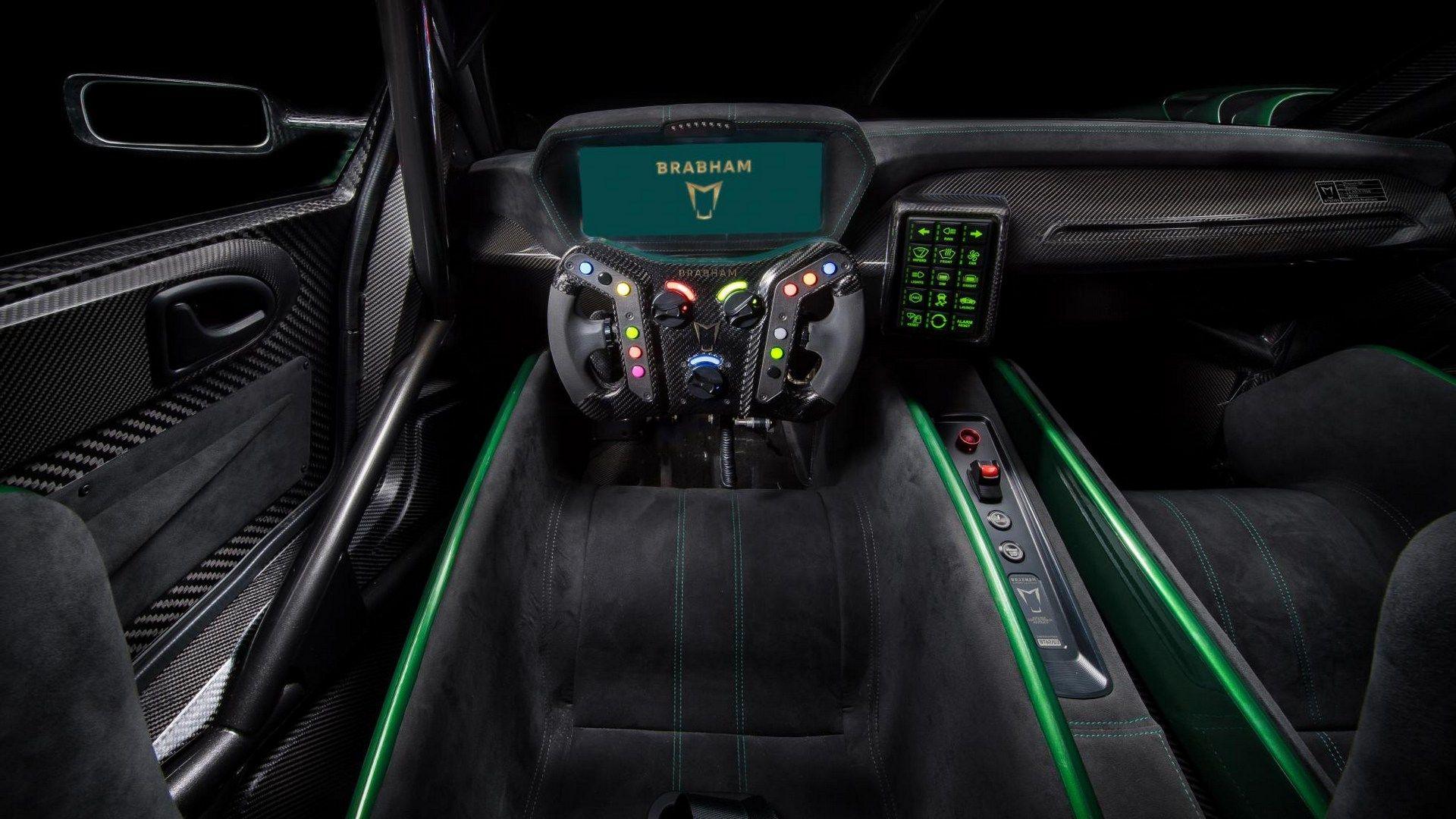 Brabham Reveals 700 bhp Track Only Racecar