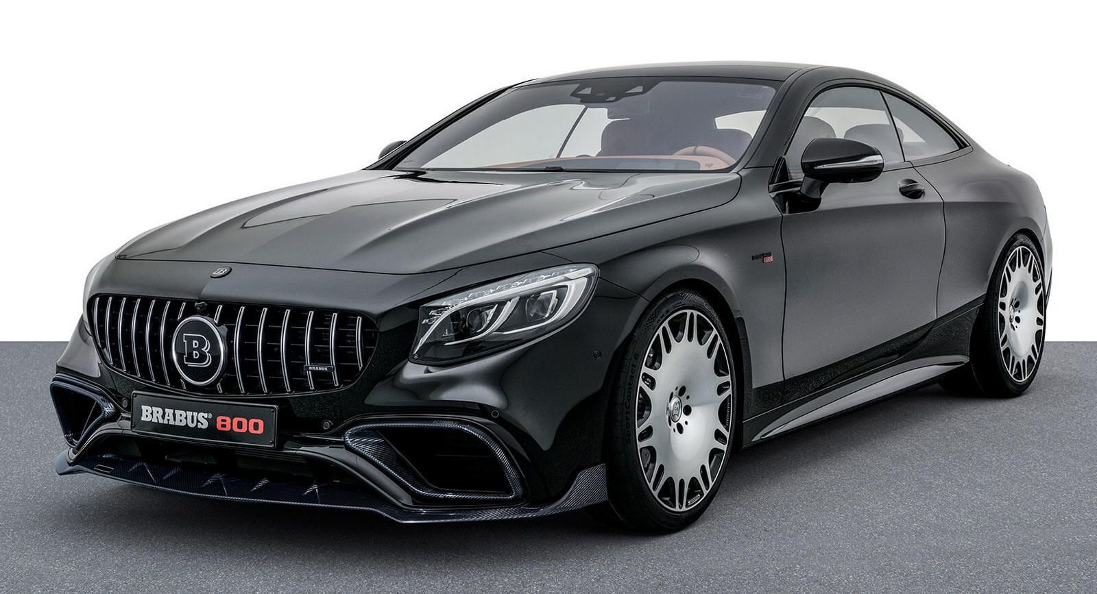 Mercedes S63 Coupe-Based Brabus 800 Costs Just Under $400,000 ...