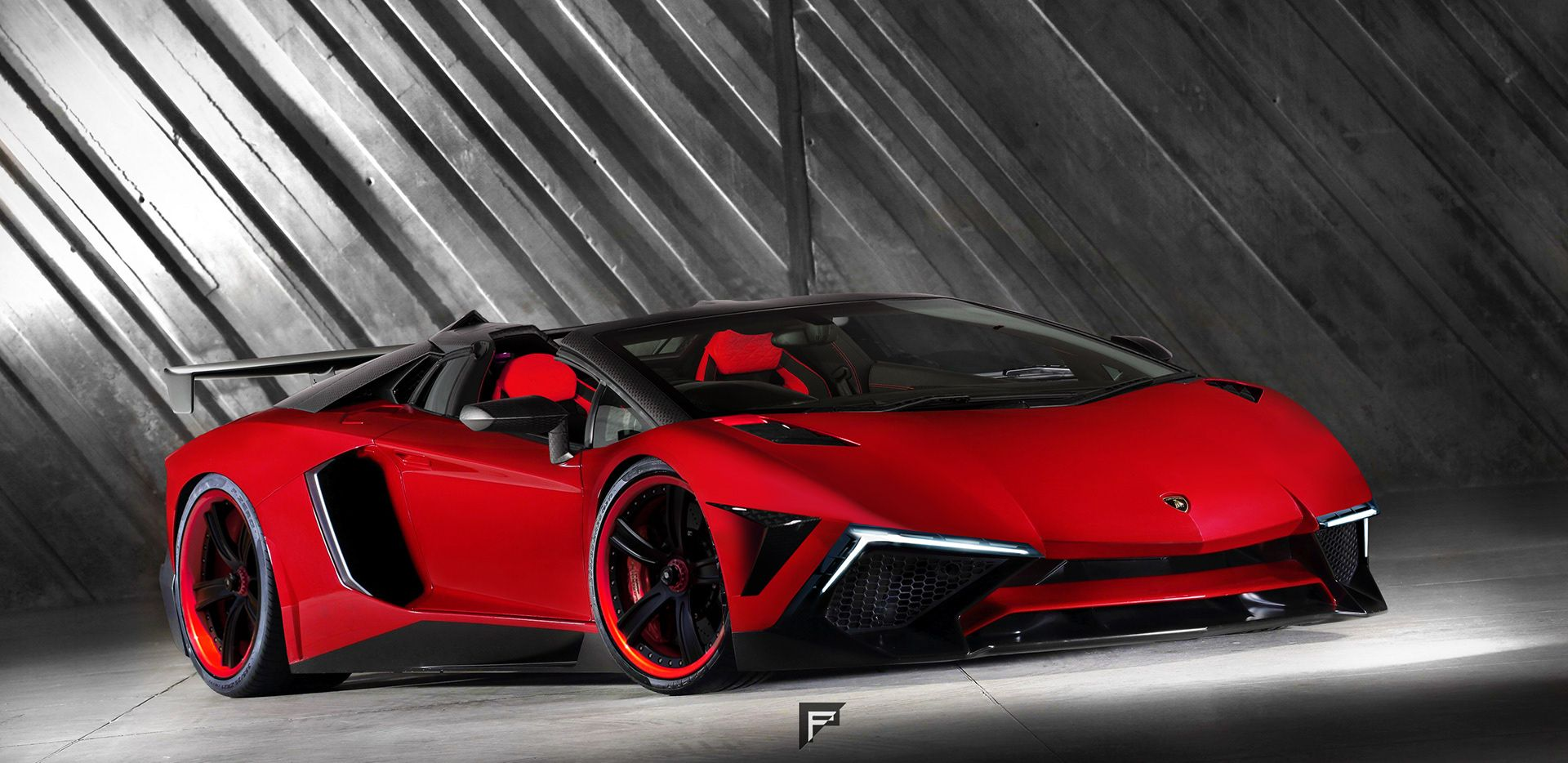 lamborghini aventador sv is infused with terzo millennio styling carscoops. Black Bedroom Furniture Sets. Home Design Ideas