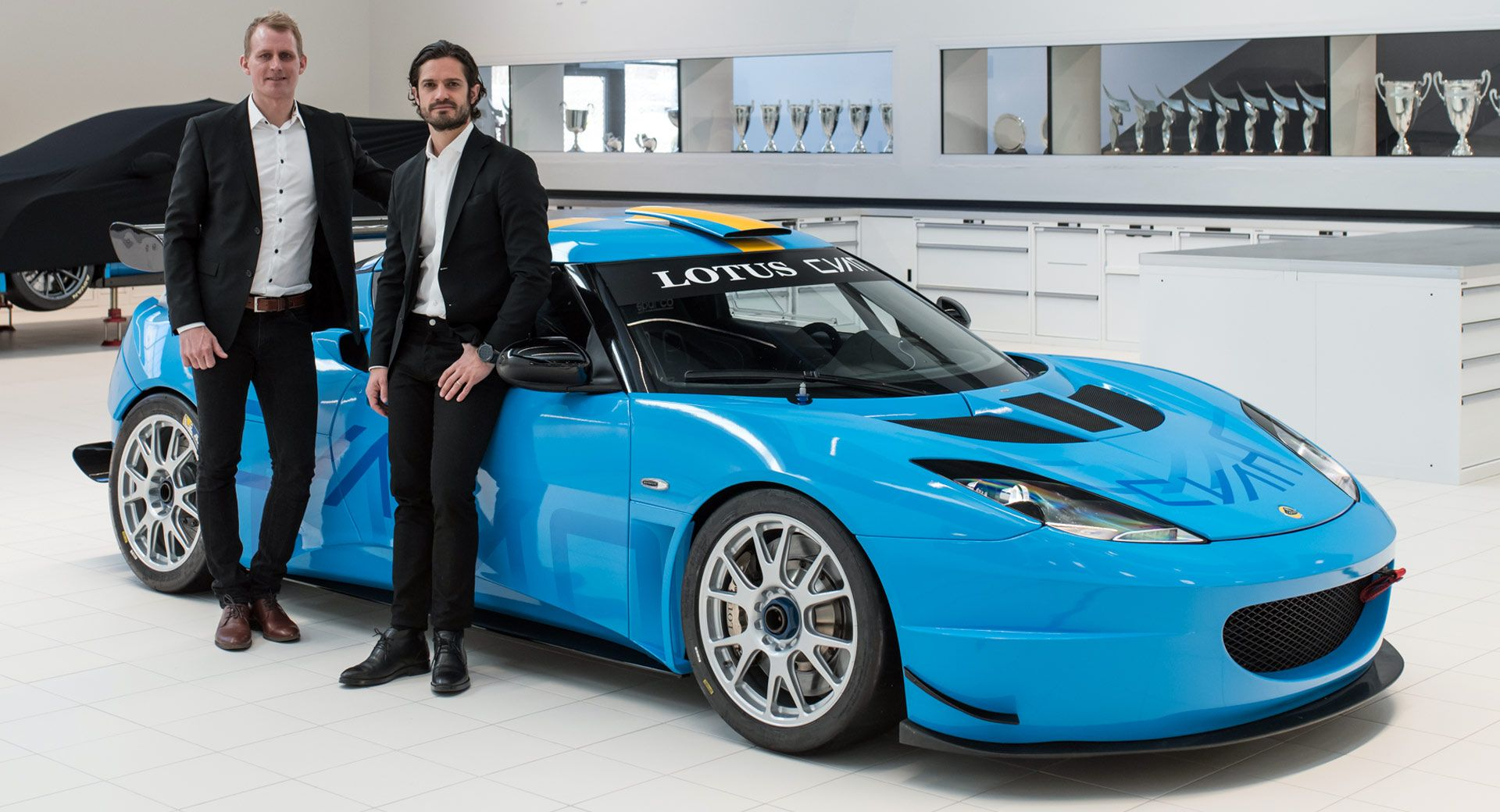 Volvo Polestar's Team Cyan Is Racing A Lotus Evora This ...