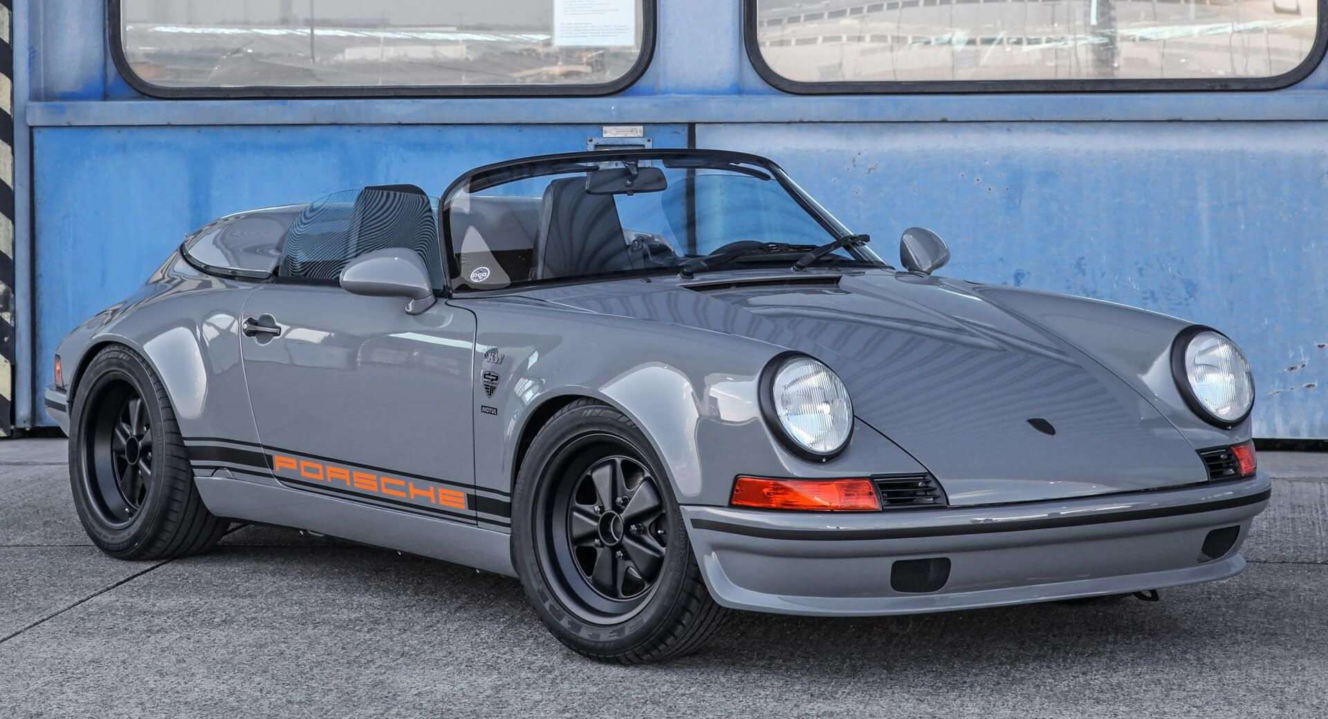 Retro Looking Porsche 911 Speedster Started Life As A 1989