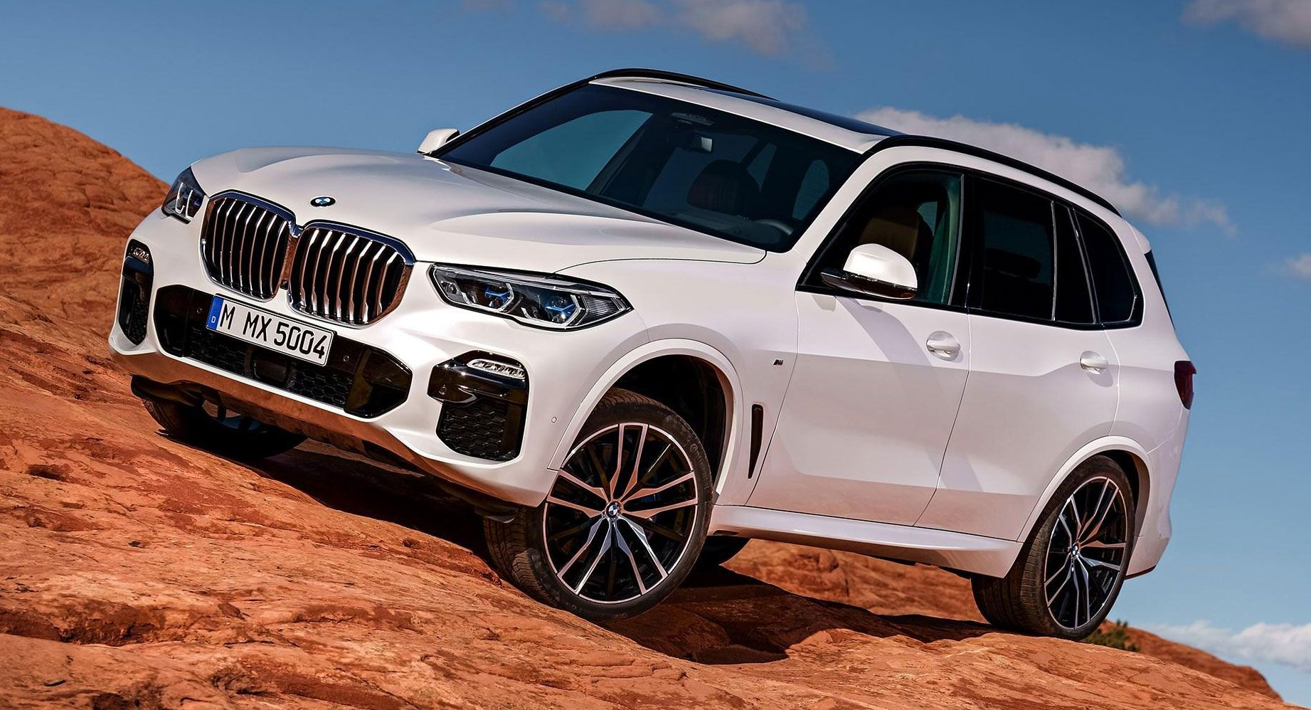 2019 bmw x5 g05 this is it first official photos carscoops. Black Bedroom Furniture Sets. Home Design Ideas