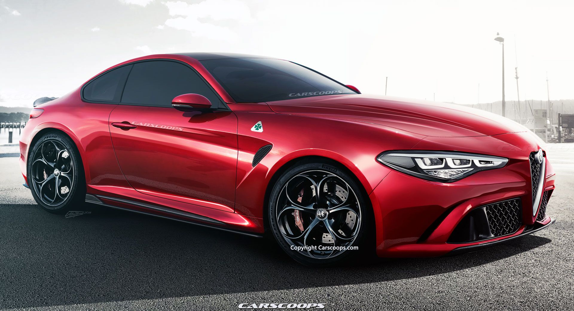 2022 alfa romeo gtv what it ll look like and everything else we know carscoops. Black Bedroom Furniture Sets. Home Design Ideas