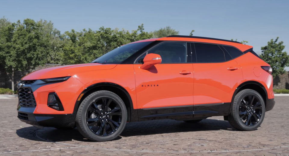 First Video Look At 2019 Chevrolet Blazer: What Do You ...
