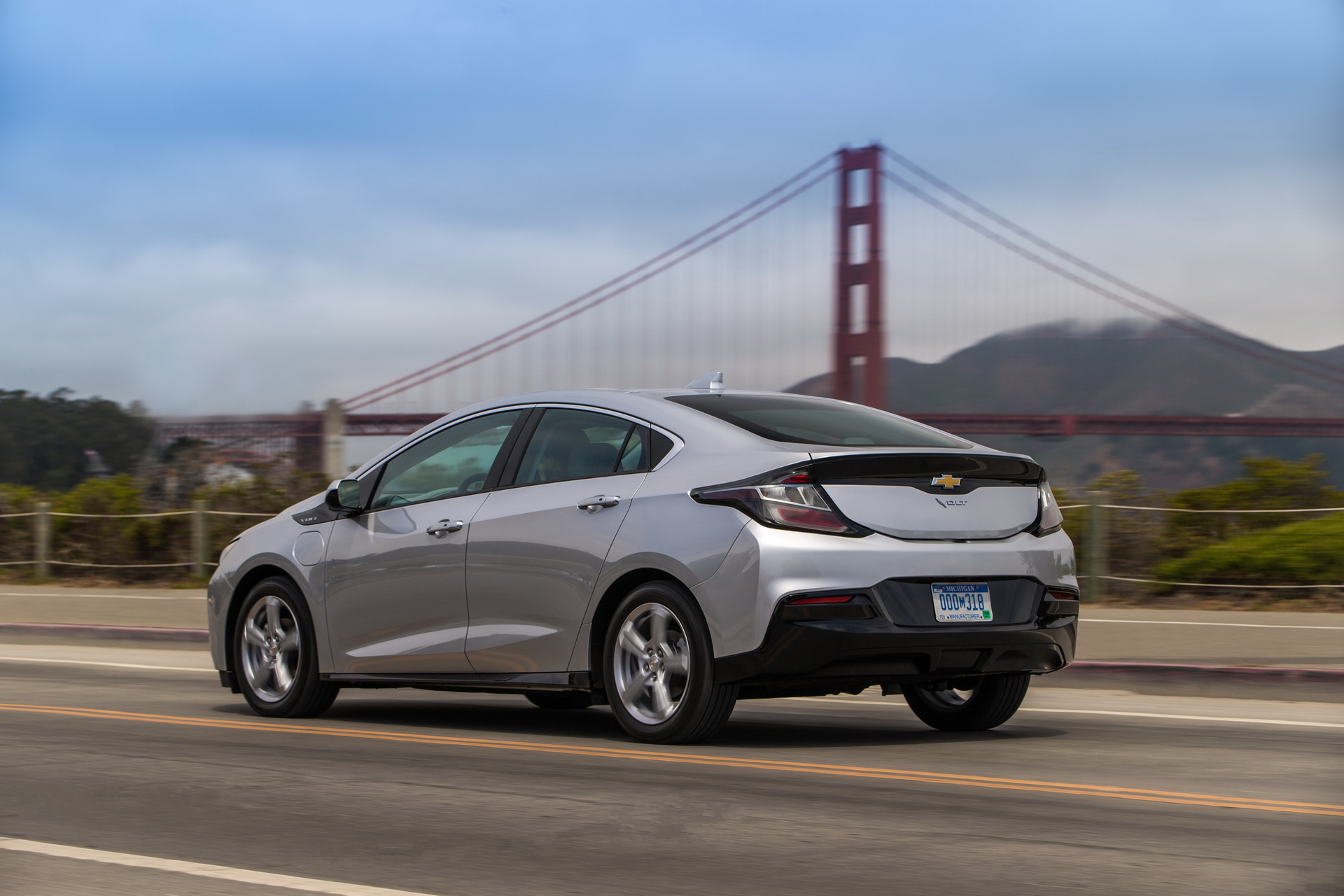 Chevy Volt charges nearly twice as fast