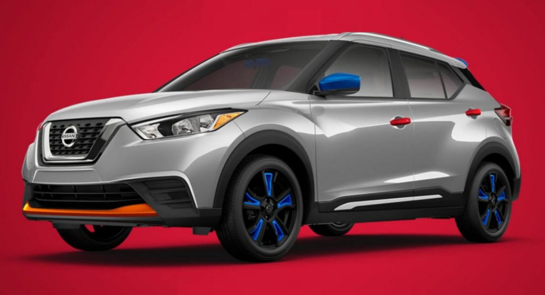 Red White And Blue Auto Sales >> Nissan Kicks Will Offer Some Questionable Styling ...