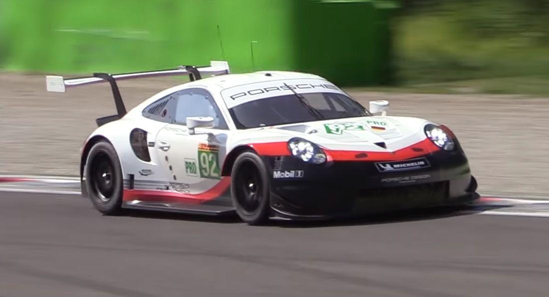 Porsche 911 RSR GTE Racer Is A Visceral, Ear-Piercing ...