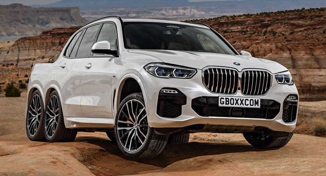 Bmw Pick Up Truck >> 2019 Bmw X5 Gets A Virtual Six Wheel Pickup Truck Conversion Carscoops