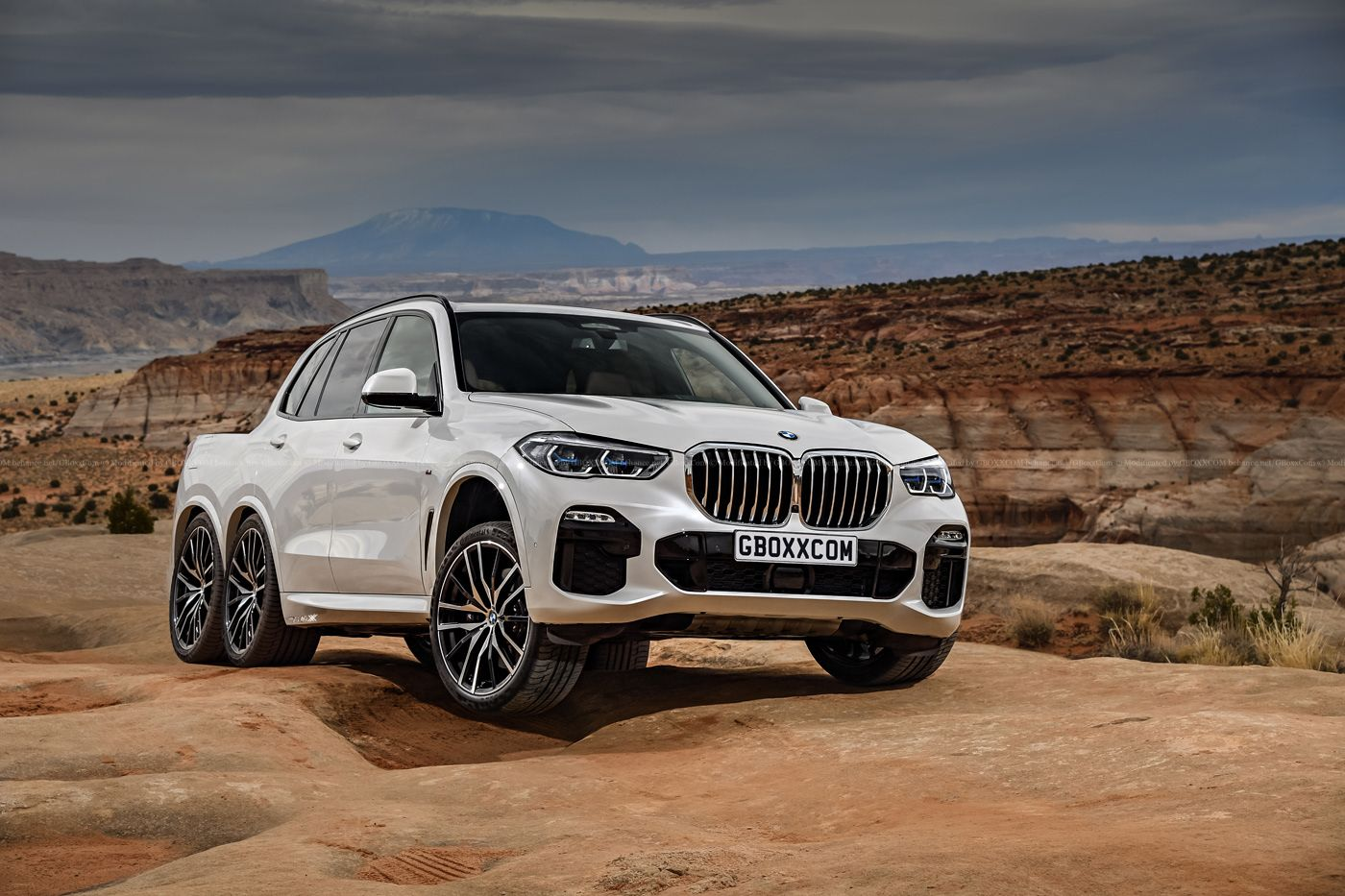 Maserati Levante For Sale >> 2019 BMW X5 Gets A Virtual Six-Wheel Pickup Truck ...