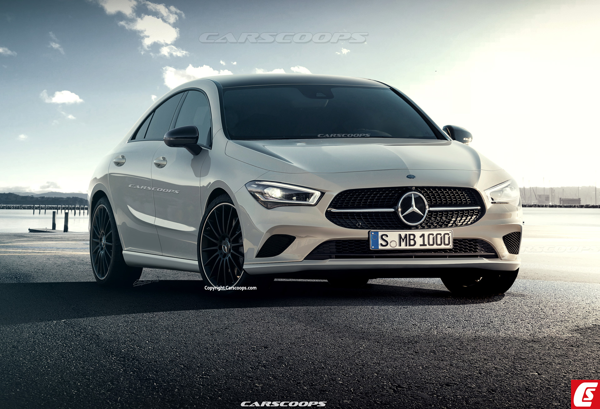 2019 mercedes benz cla styling engines release date and other key details carscoops. Black Bedroom Furniture Sets. Home Design Ideas