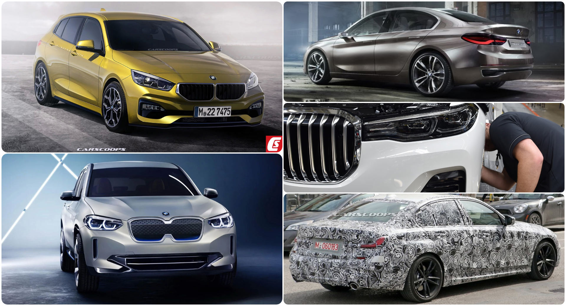 Bmw Future Car Guide What S Coming 2018 2020 Carscoops