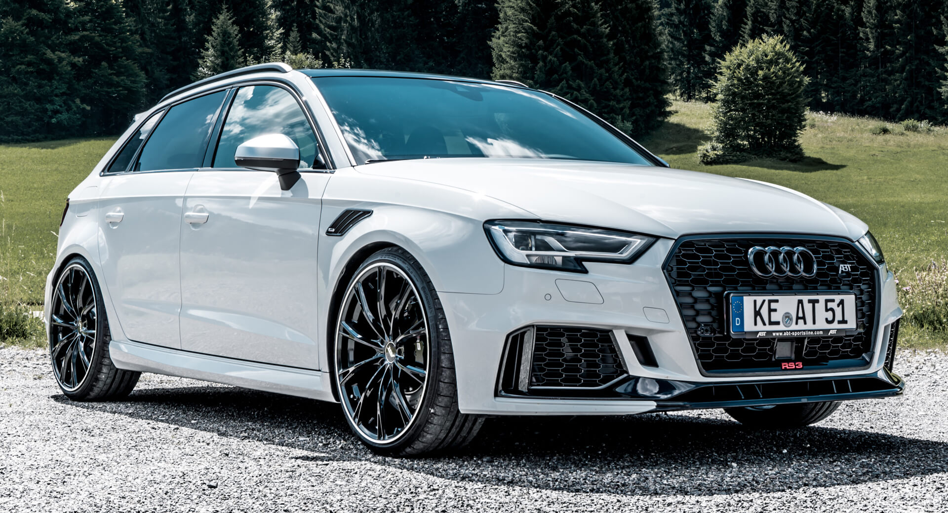 abt 39 s audi rs3 sportback is as quick to 100km h as. Black Bedroom Furniture Sets. Home Design Ideas