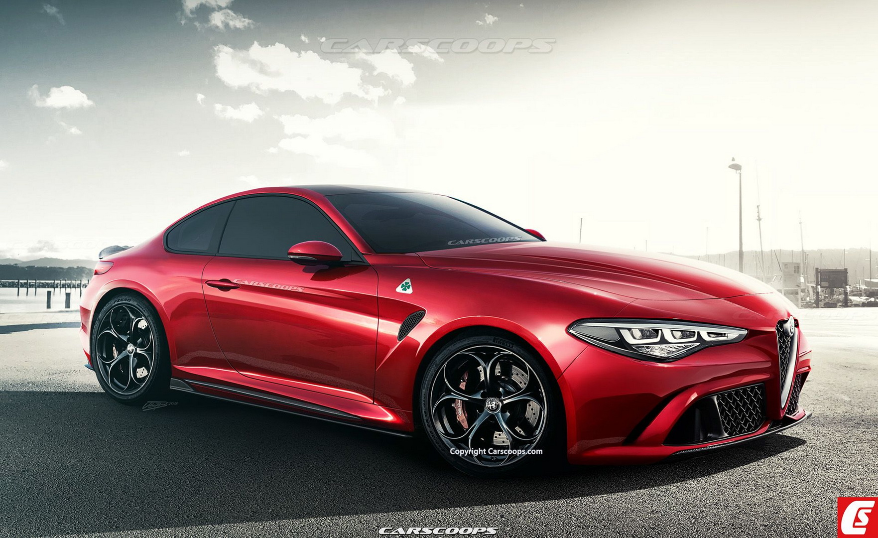 New Alfa Romeo GTV Expected In 2021 With Electrification ...