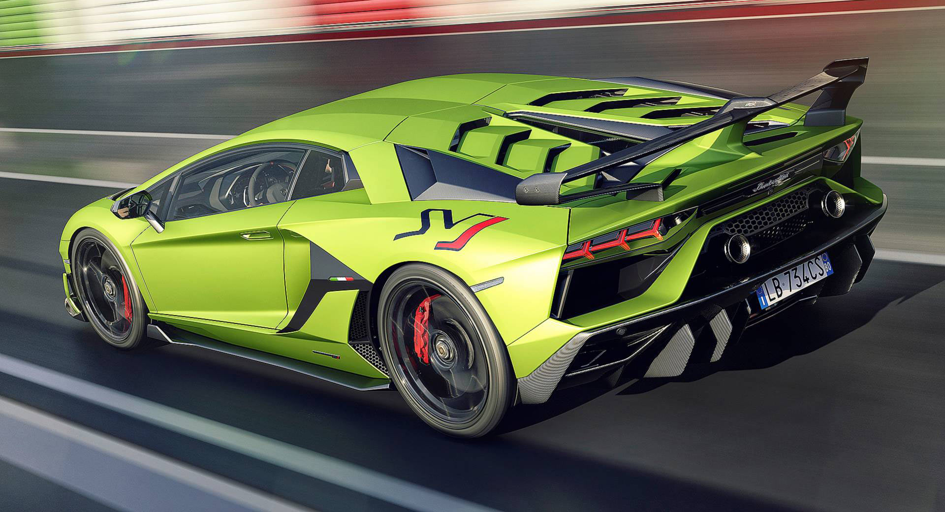 confirmed lamborghini aventador svj roadster to debut in geneva carscoops. Black Bedroom Furniture Sets. Home Design Ideas