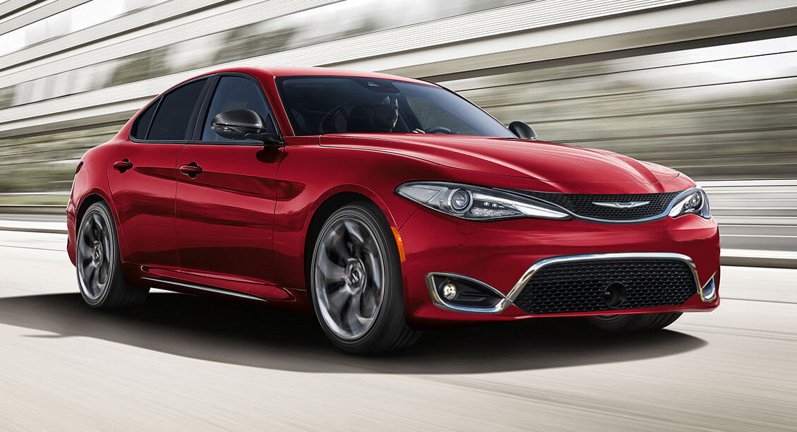 Chrysler 300 Is Getting Old, But Using Giulia Styling Is ...