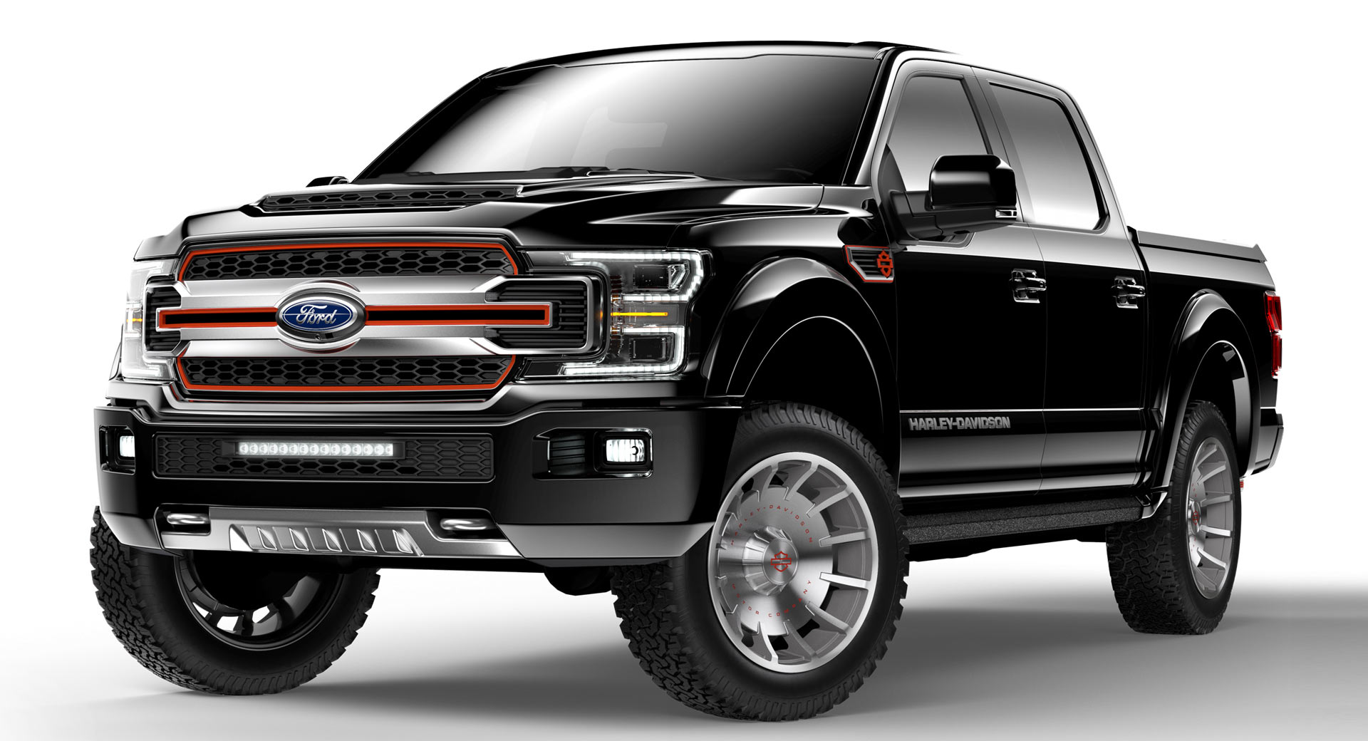 Ford F-150 Harley-Davidson Returns Without Ford's ...