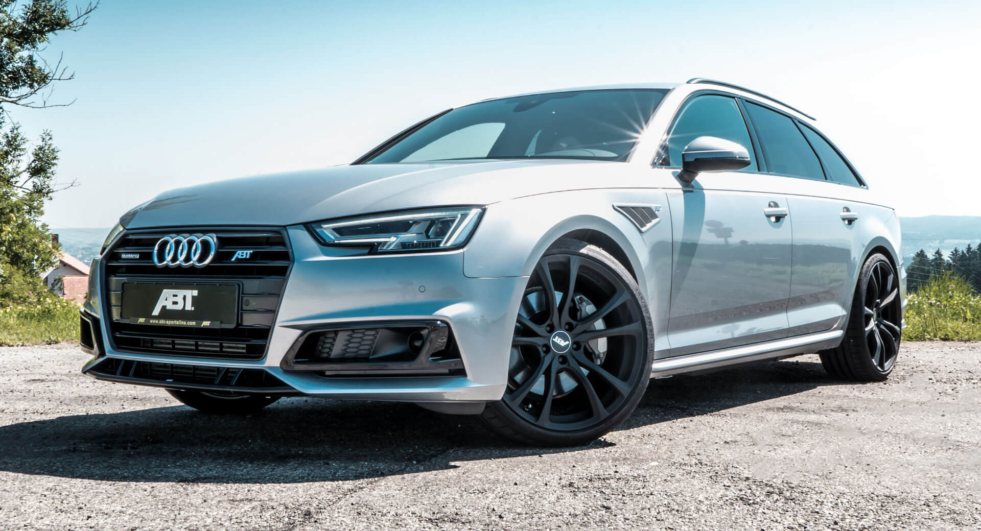 Audi A4 B9 Gets A Complete Tuning Job From Abt Sportsline Carscoops