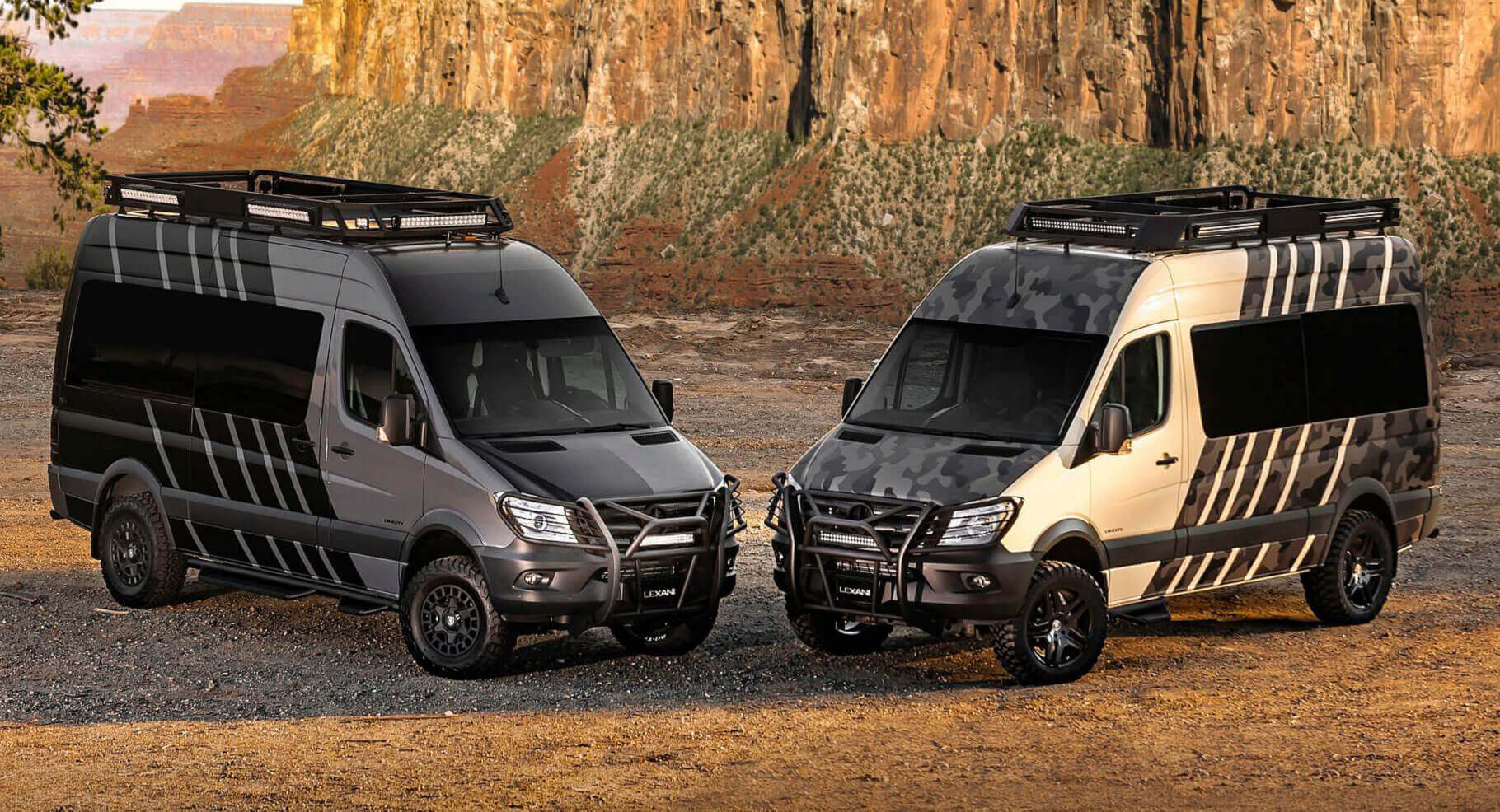 Mclaren P1 Cost >> Mercedes-Benz Sprinter Goes From Van To Off-Road Camper