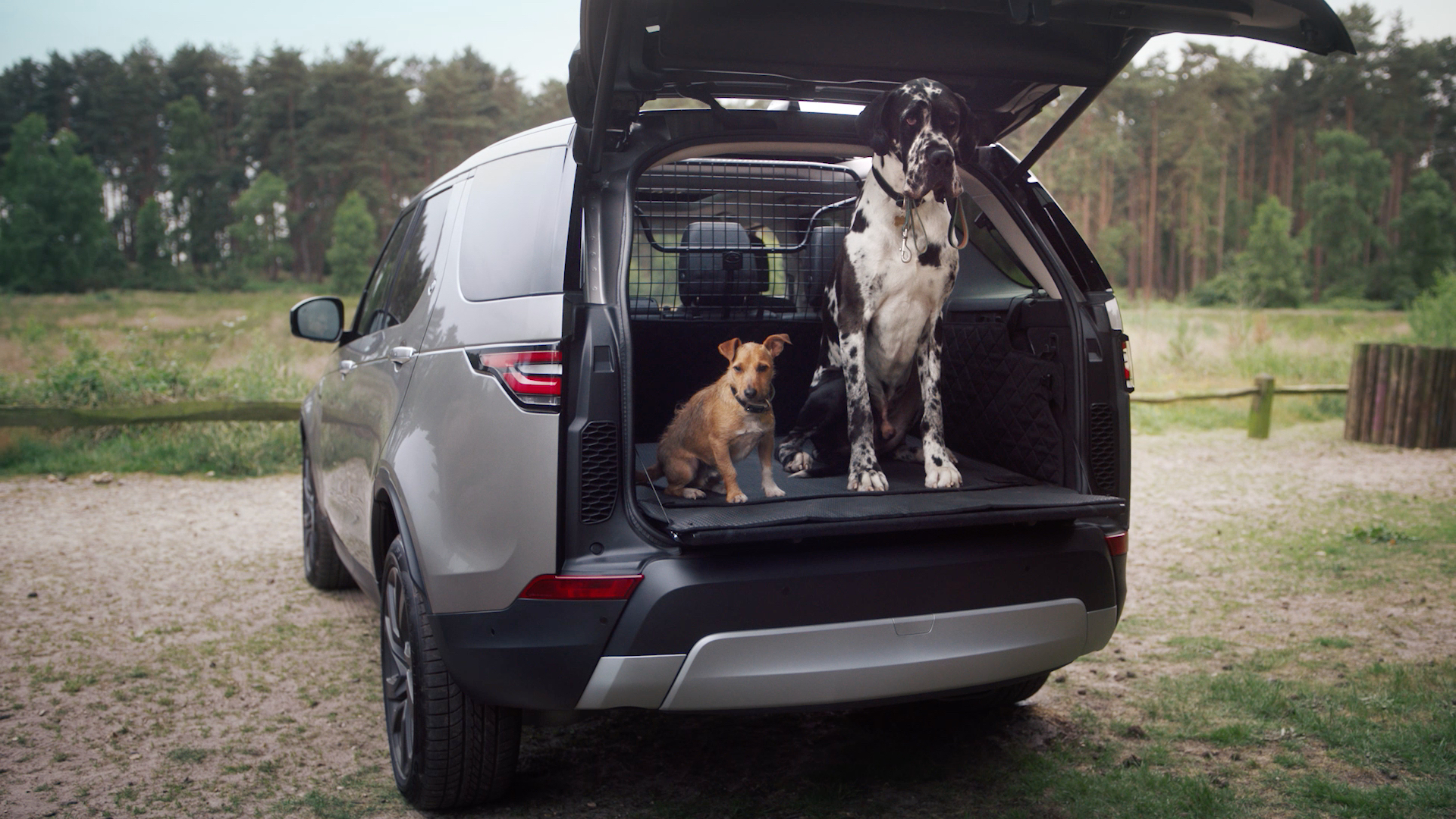 Land Rover unveiled SUV for pet owners
