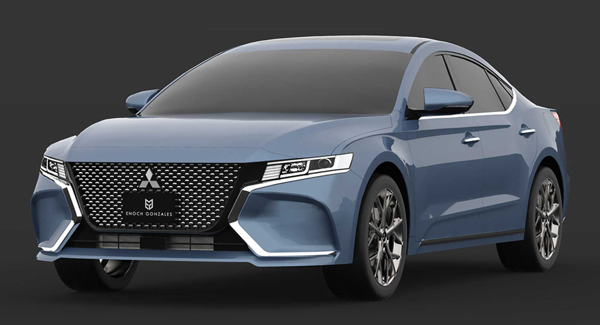 2020 Mitsubishi Gallant Study Envisions The Unlikely ...