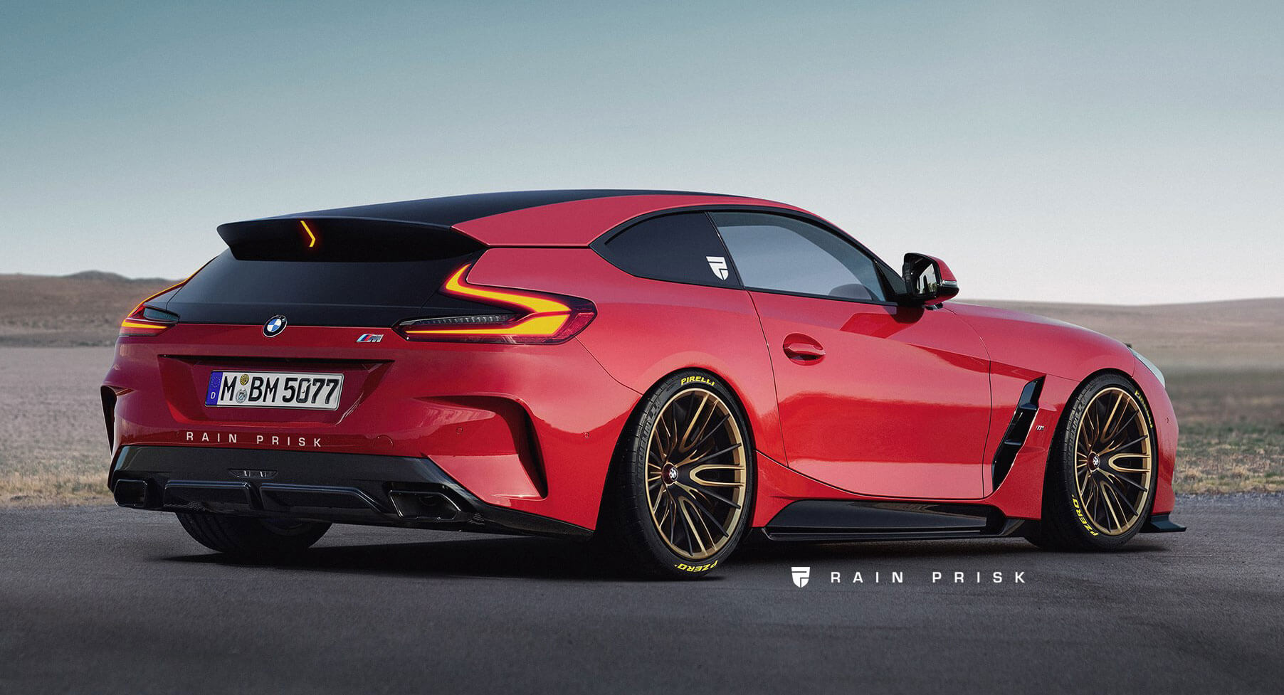 New Bmw Z4 Gets Transformed Into The Shooting Brake That